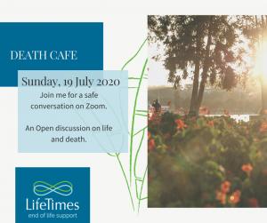 Death Cafe 19 July 2020
