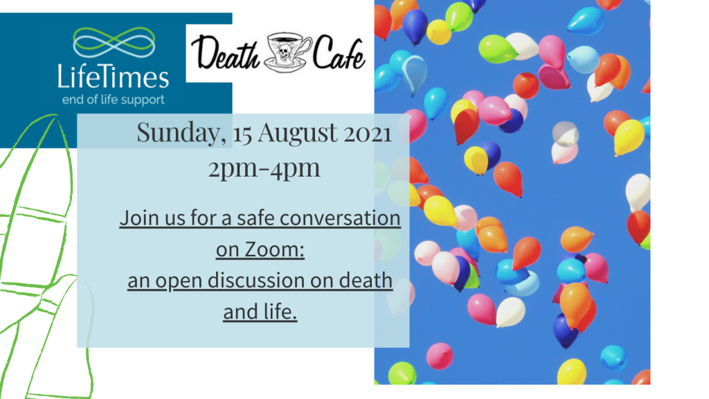 Death Cafe Newcastle August 2021